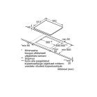 Bosch PKE645B17E, Integreeritav köögitehnika, Integreeritavad pliidiplaadid, Keraamilised pliidiplaadid
