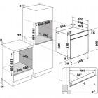 Whirlpool W64PS1OM4P, Integreeritav köögitehnika, Integreeritavad ahjud, Pürolüüs, isepuhastuvad ahjud
